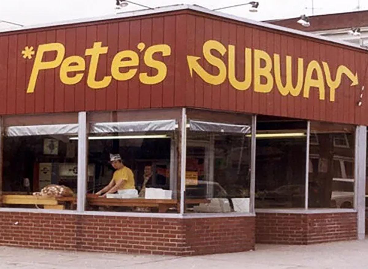 original subway location