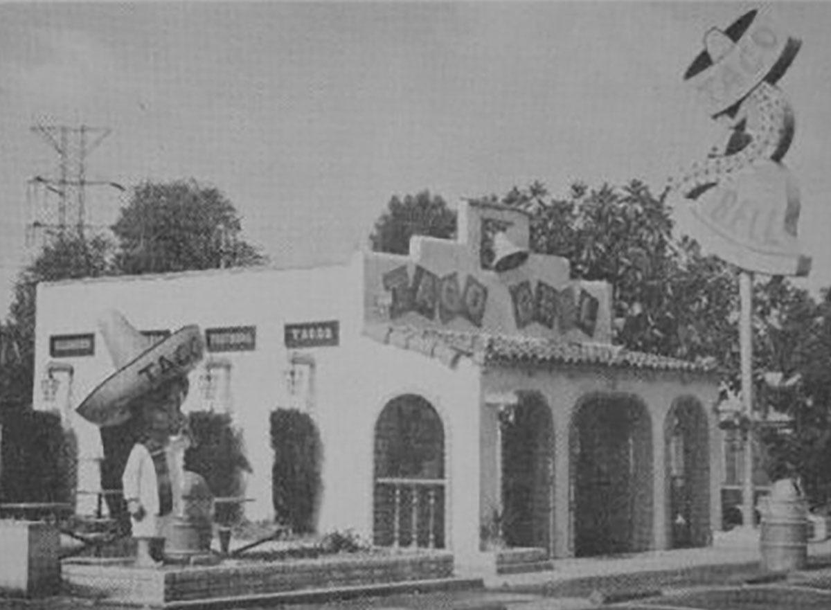 original taco bell location