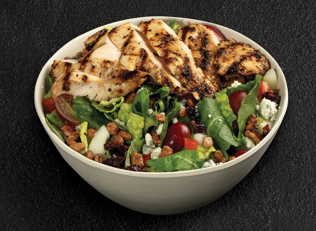TGI Fridays grilled chicken pecan blue cheese salad