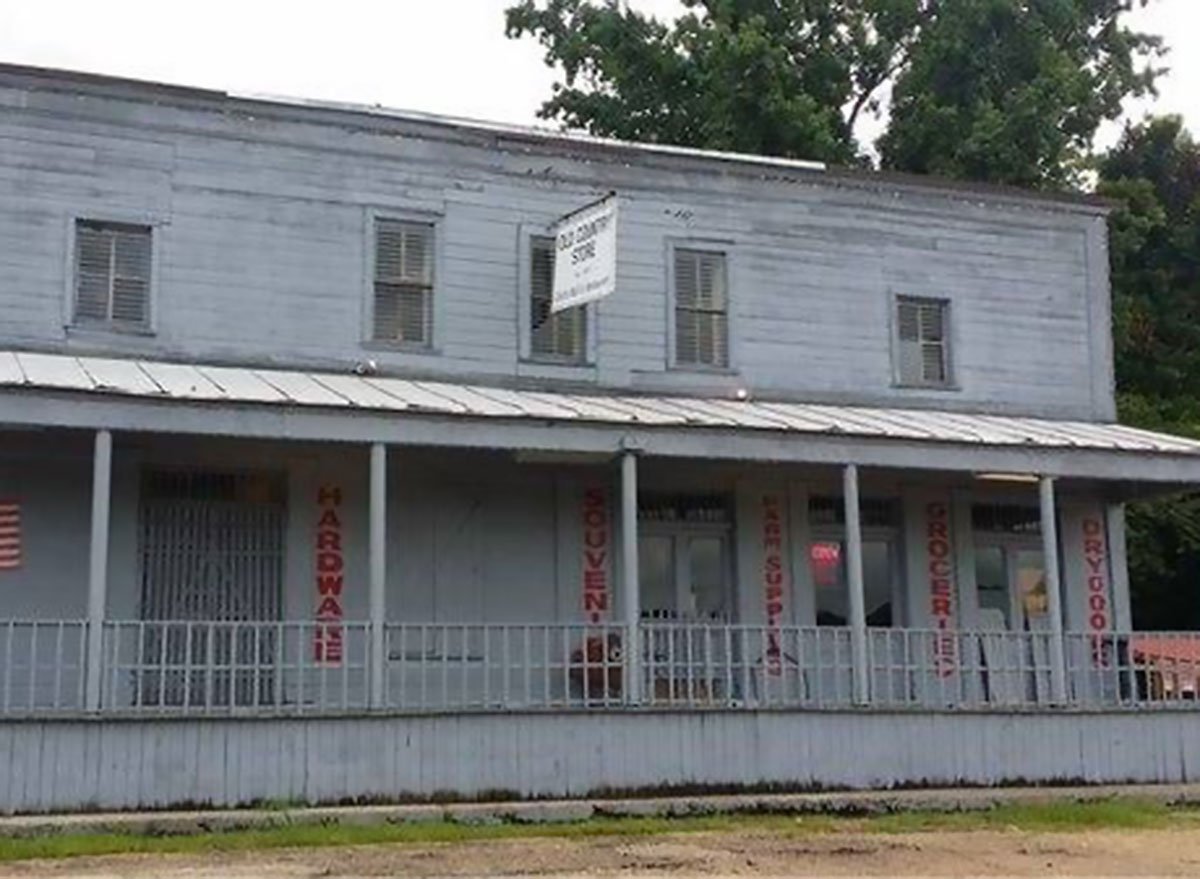 the old country store restaurant front deck