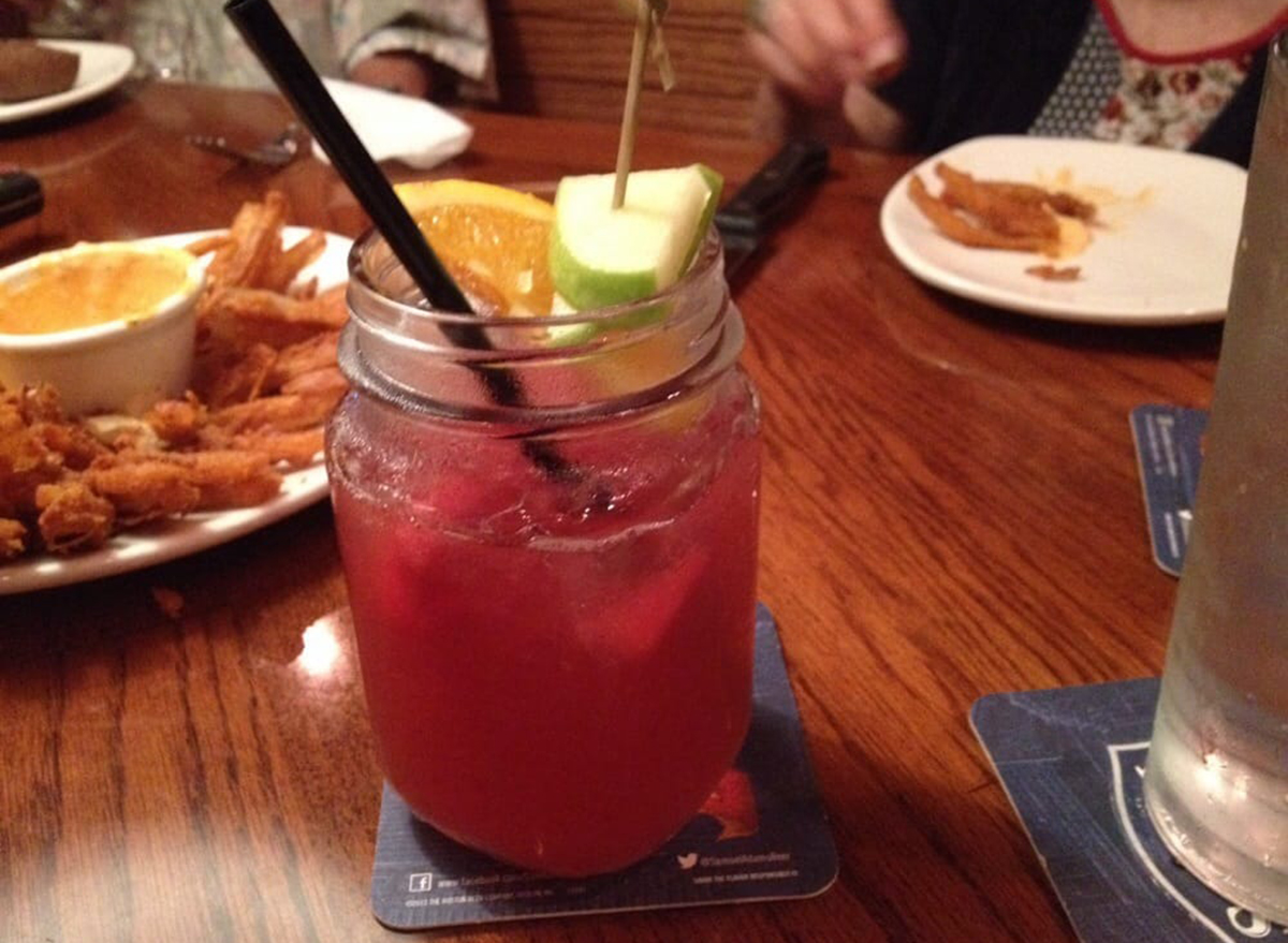 watermelon hunch punch cocktail from outback steakhouse