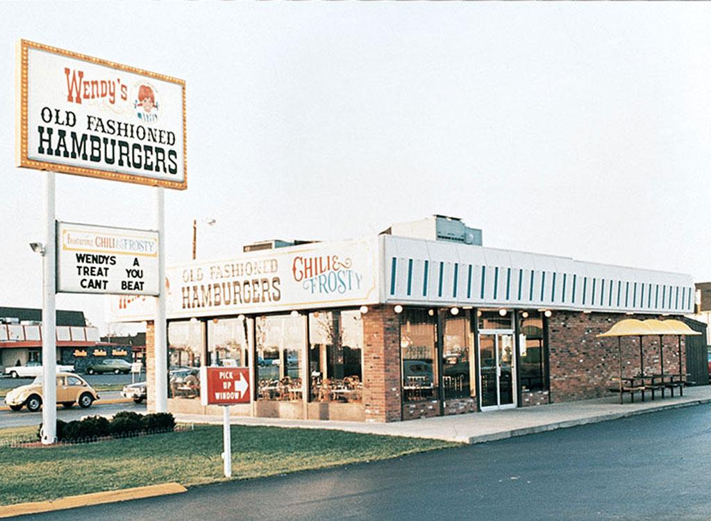 Wendys drive thru 1970s