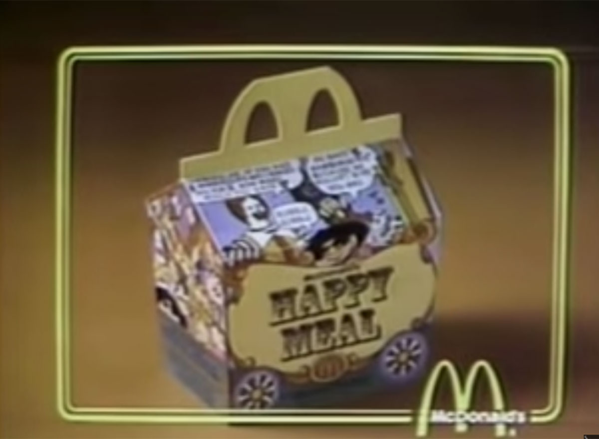 Mcdonalds first happy meal
