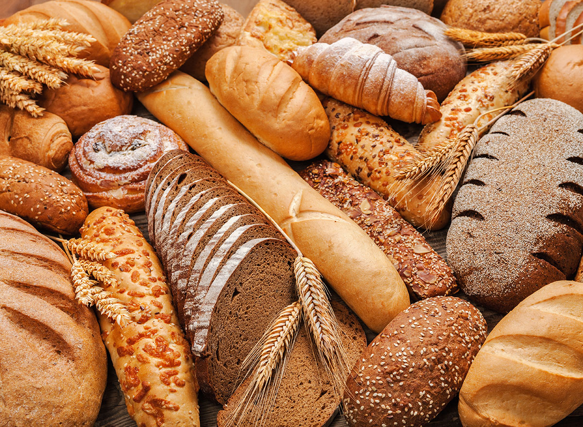 assorted types of bread
