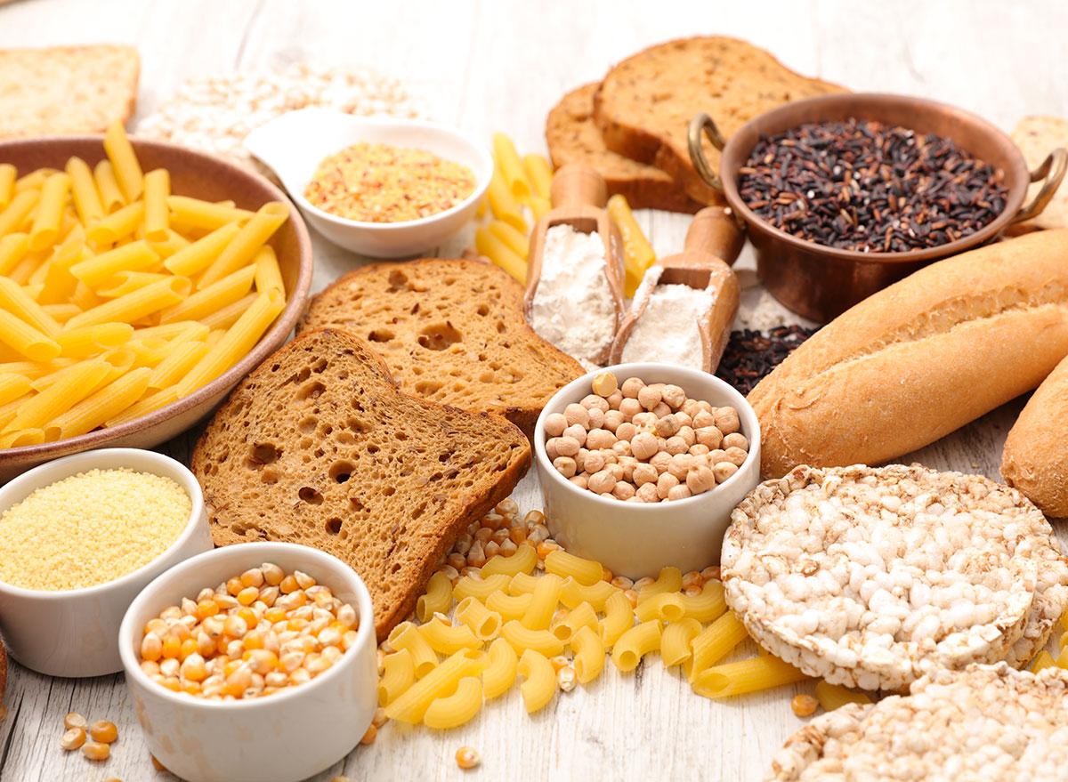 assorted gluten free foods