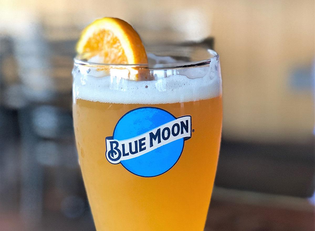 blue moon draft glass most popular beer west virginia