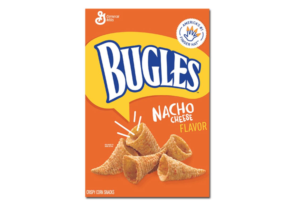 bugles nacho cheese flavor