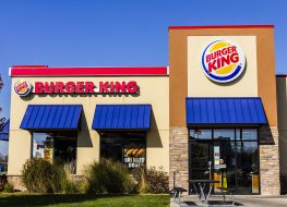 burger king restaurant exterior