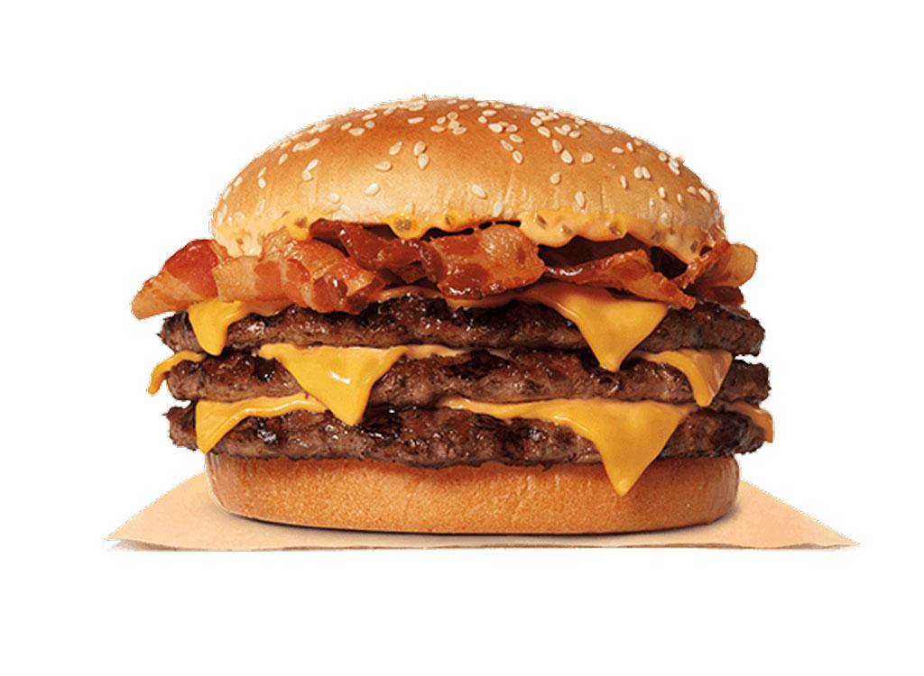 burger king triple stacker