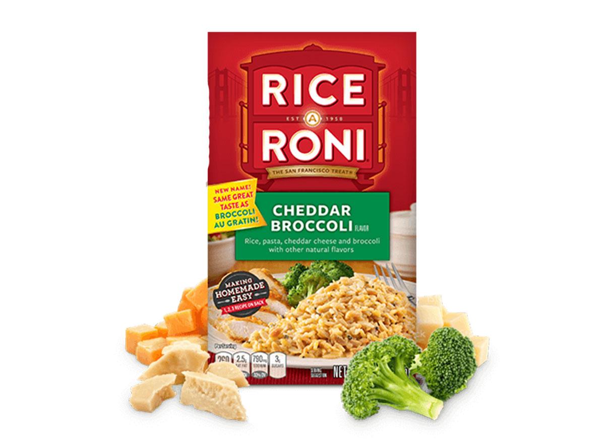 cheddar broccoli rice-a-roni