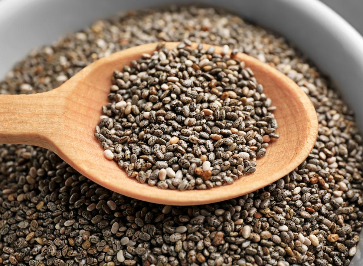 Chia seeds - calcium rich foods