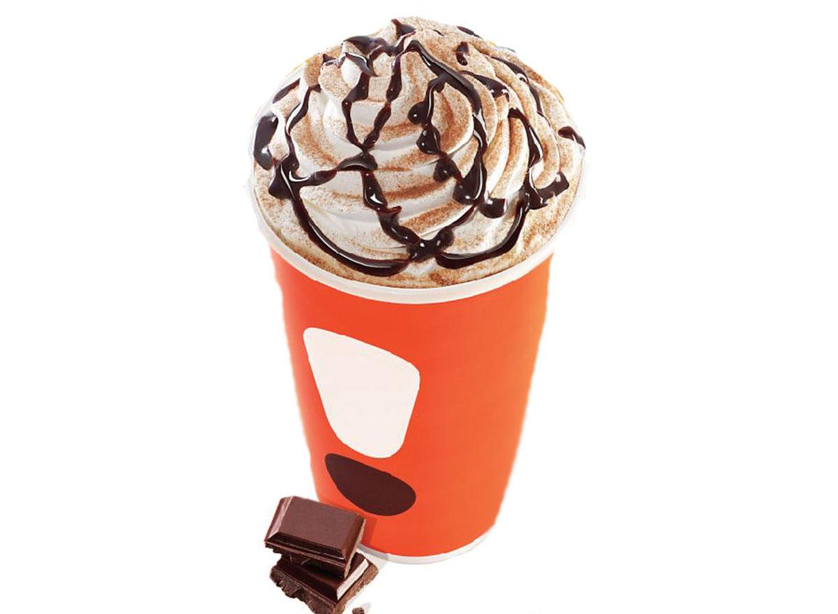 dunkin cocoa mocha latte