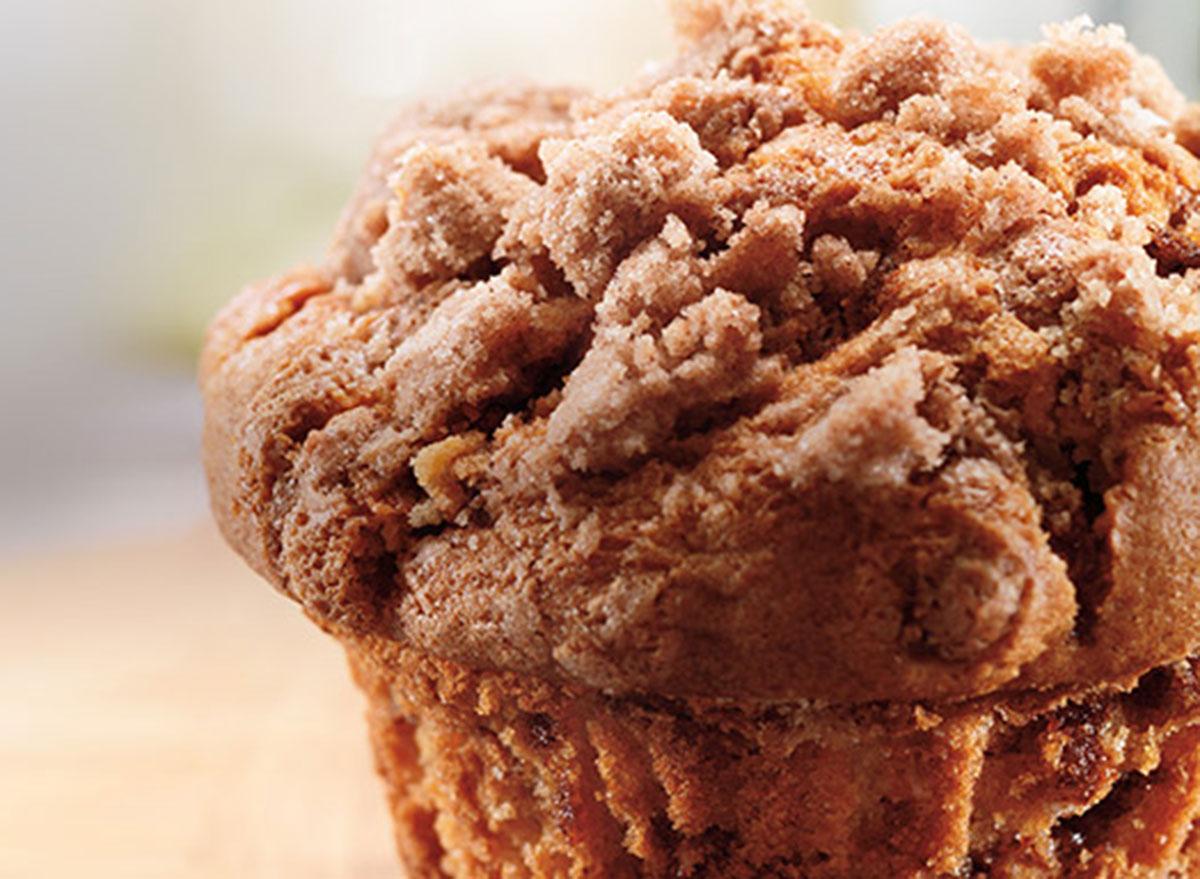 dunkin coffee cake muffin