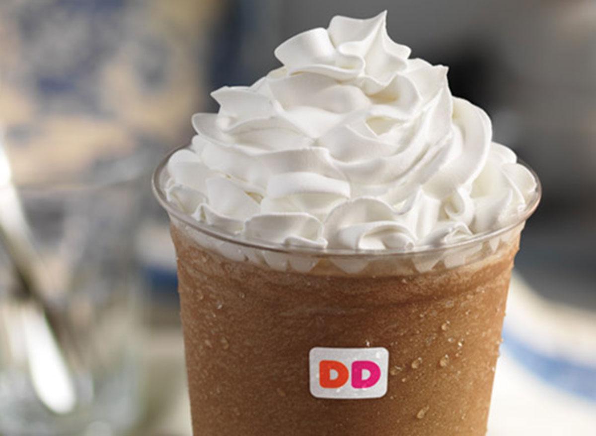 dunkin frozen dunkaccino