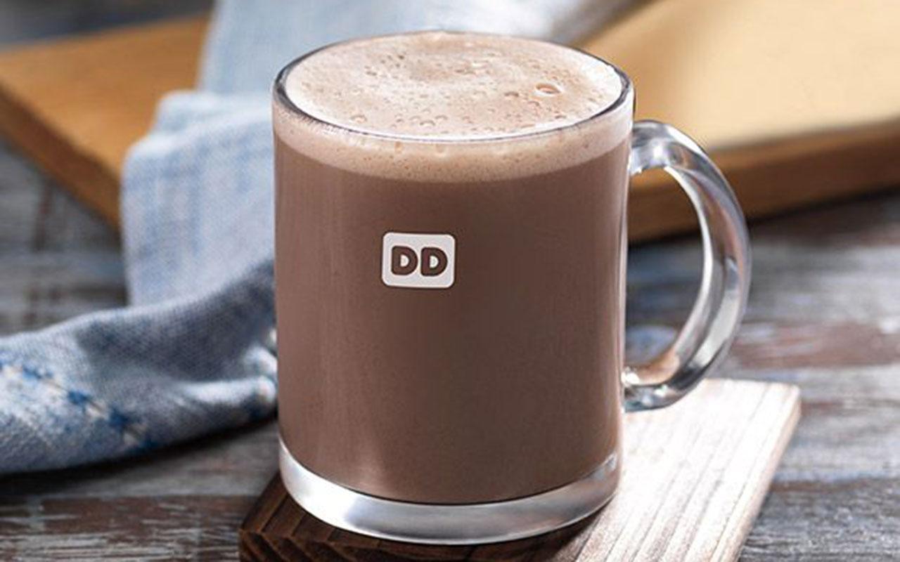 dunkin hot coffee mug