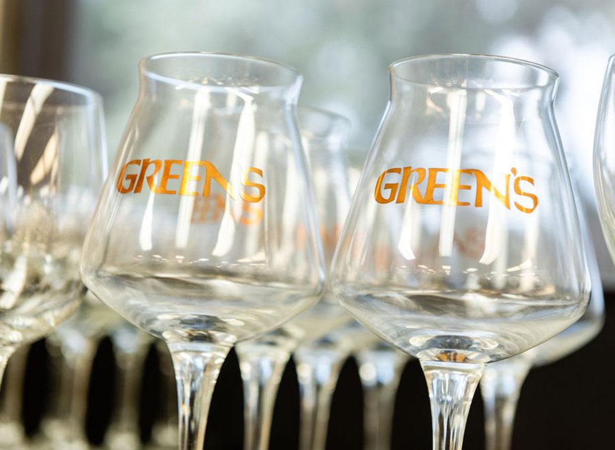 greens beer glasses most popular beer south carolina