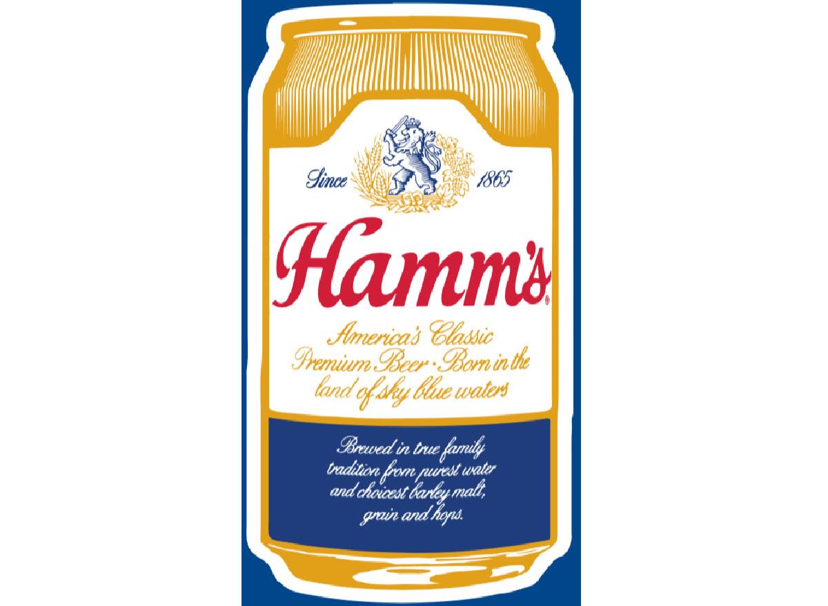 hamms beer logo most popular beer minnesota