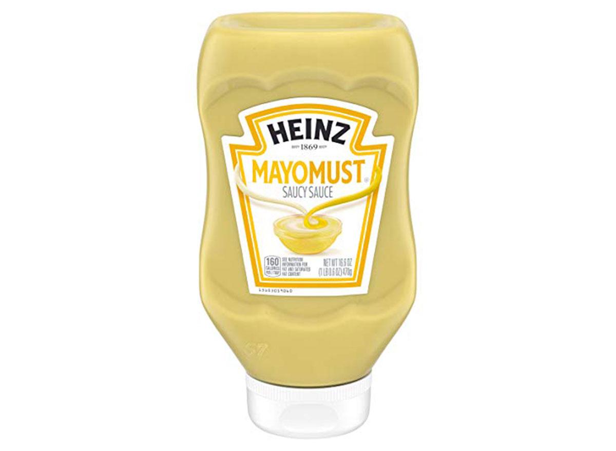 heinz mayomust sauce bottle