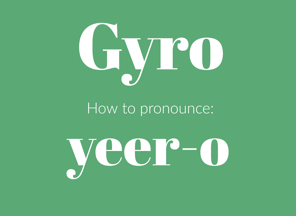 how to pronounce gyro graphic