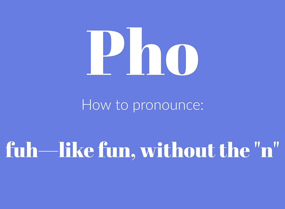 how to pronounce pho graphic