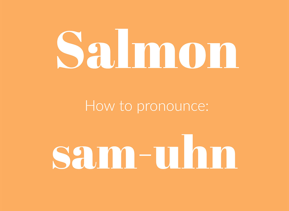 how to pronounce salmon graphic