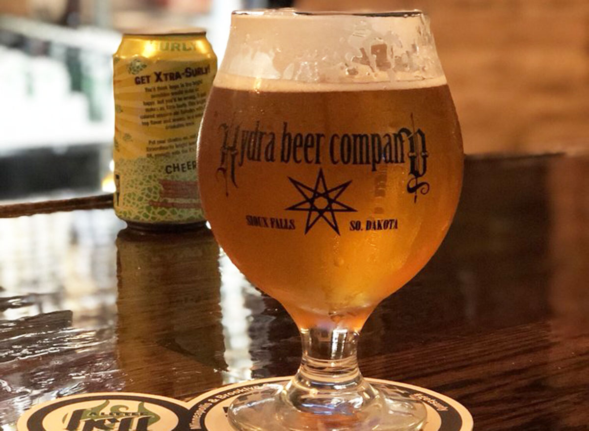 hydra beer comapny most popular beer south dakota