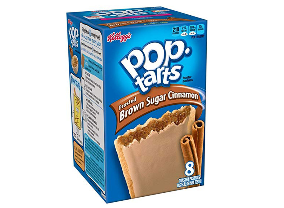 kelloggs pop-tarts brown sugar cinnamon