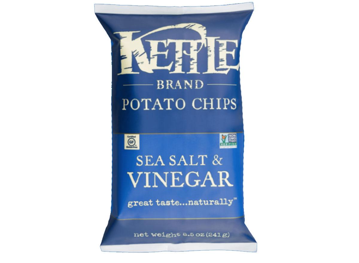 kettle sea salt vinegar chips