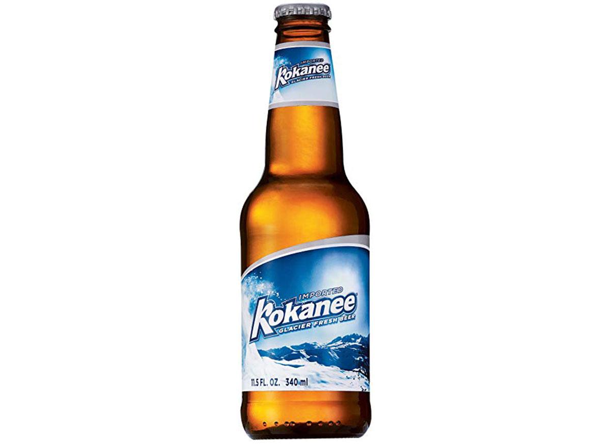 kokanee beer bottle most popular beer idaho