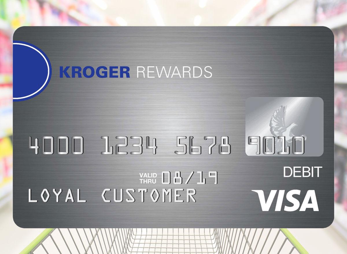 Kroger rewards shopping cart prepaid card