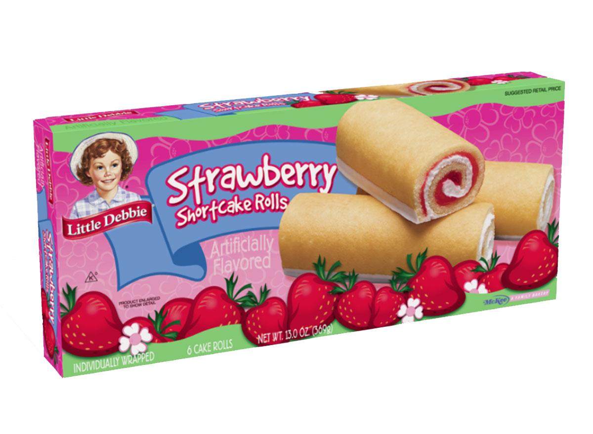 little debbie strawberry shortcake rolls