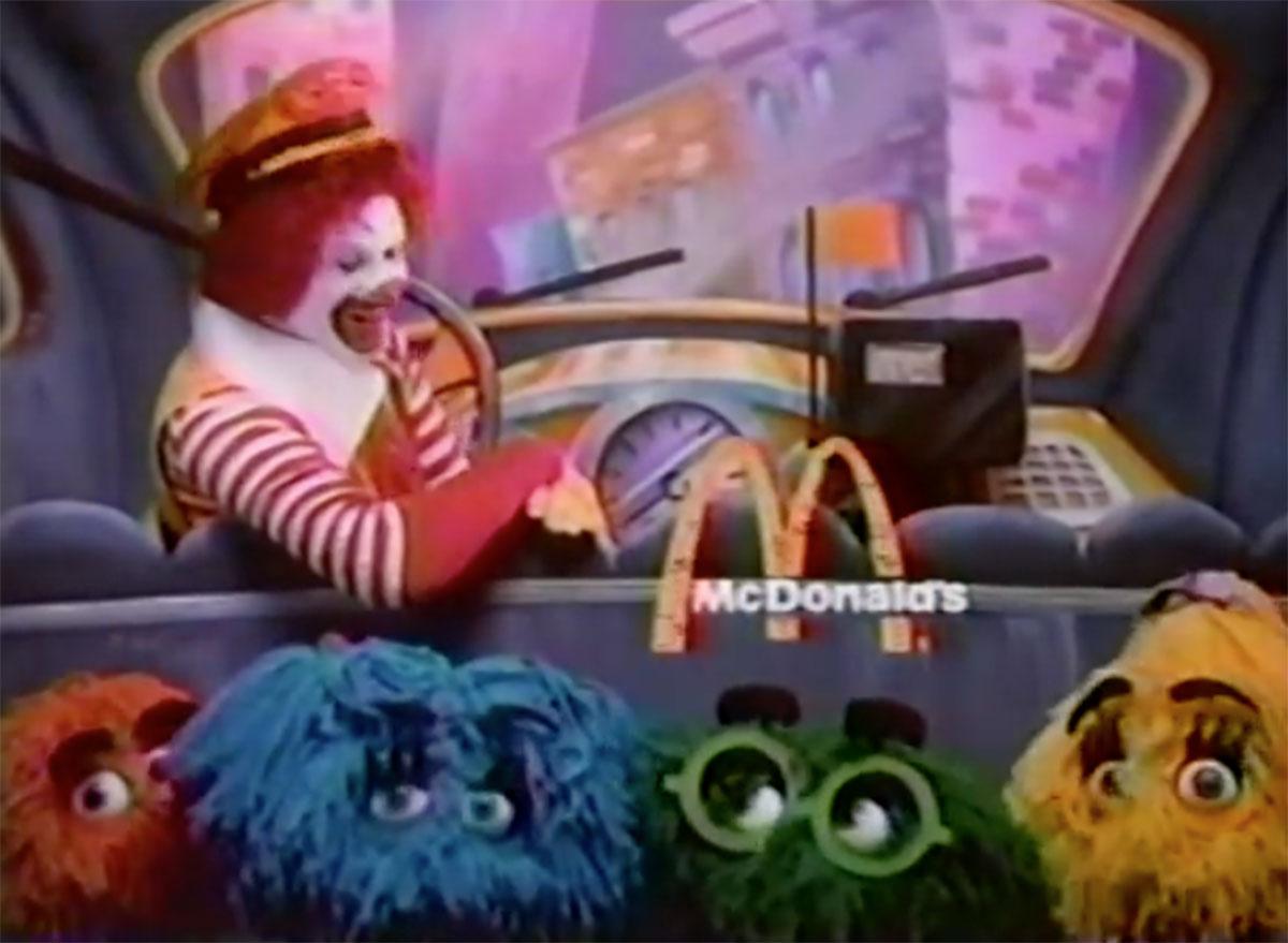 Mcdonalds fry kids