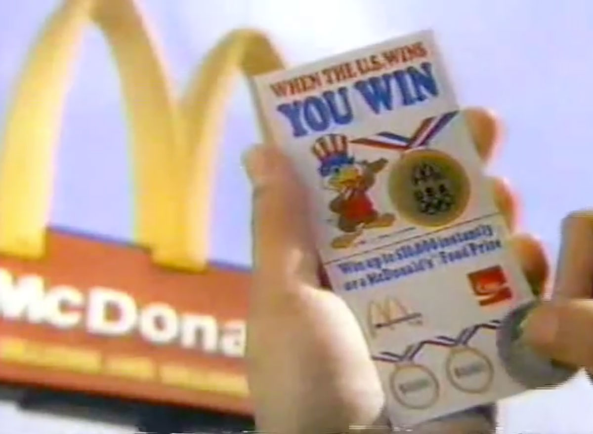 When the us wins you win mcdonalds marketing campaign for 1984 la olympics