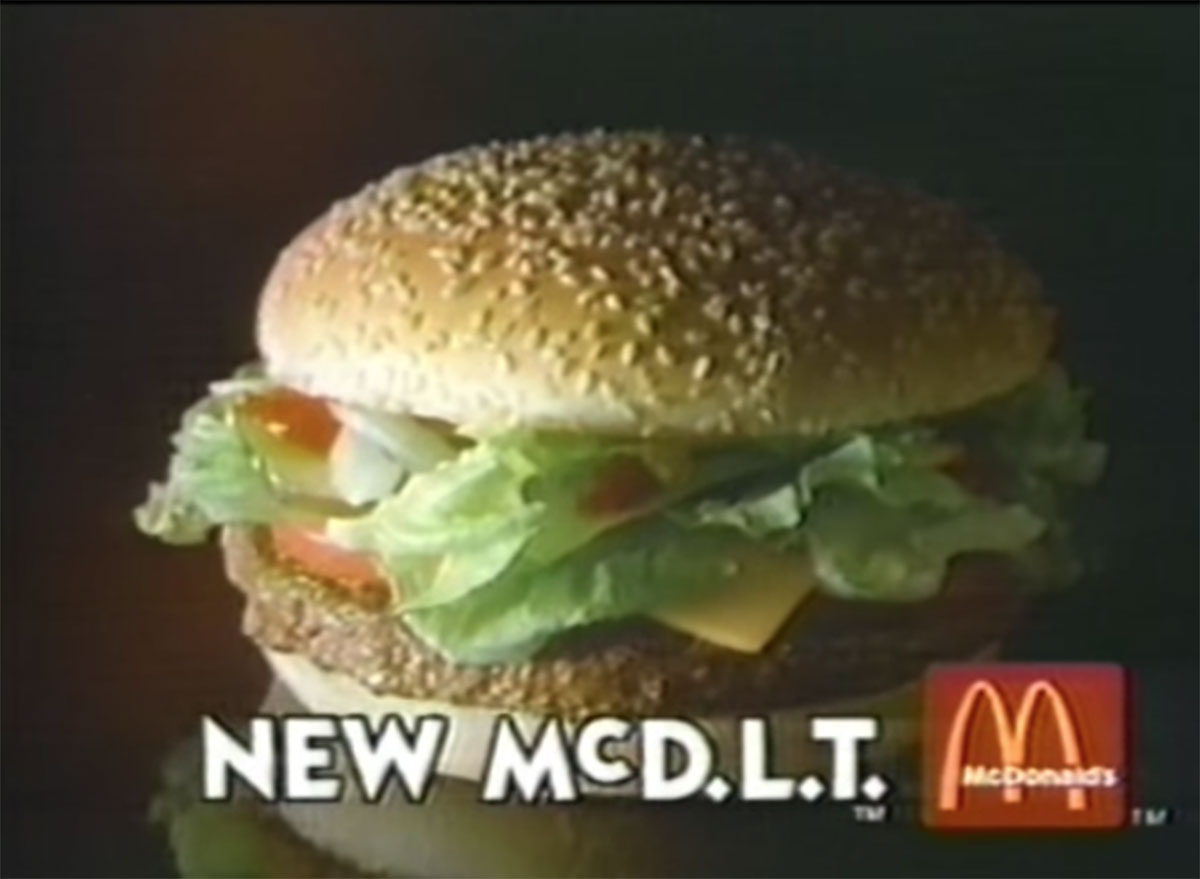 Mcdonalds the new mcdlt