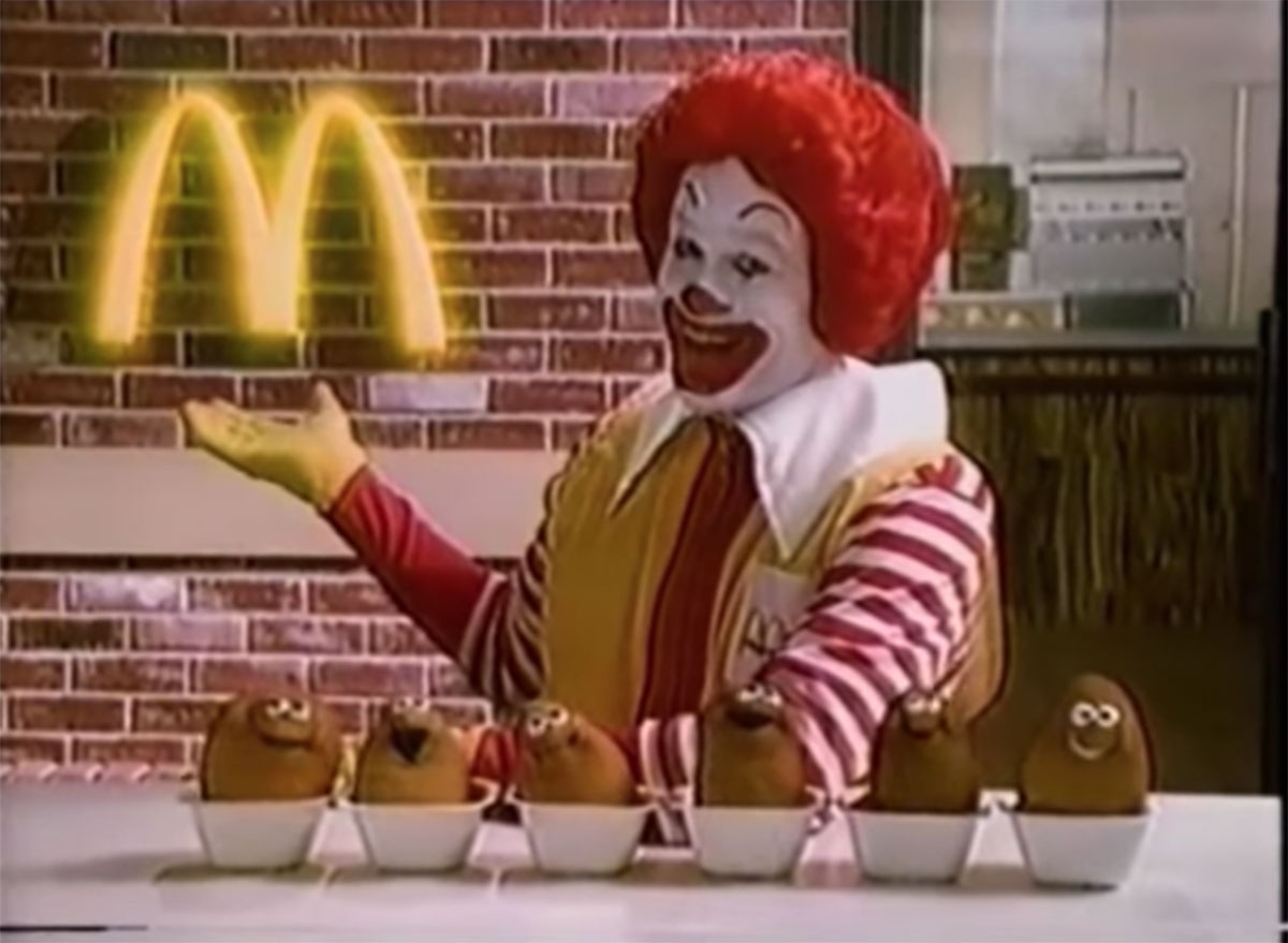 Mcdonalds mcnuggets commerical