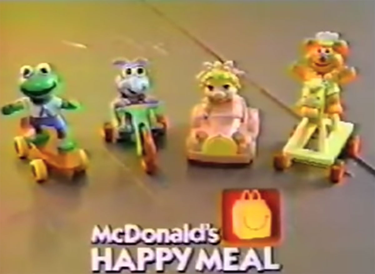Muppet babies toys mcdonalds happy meal