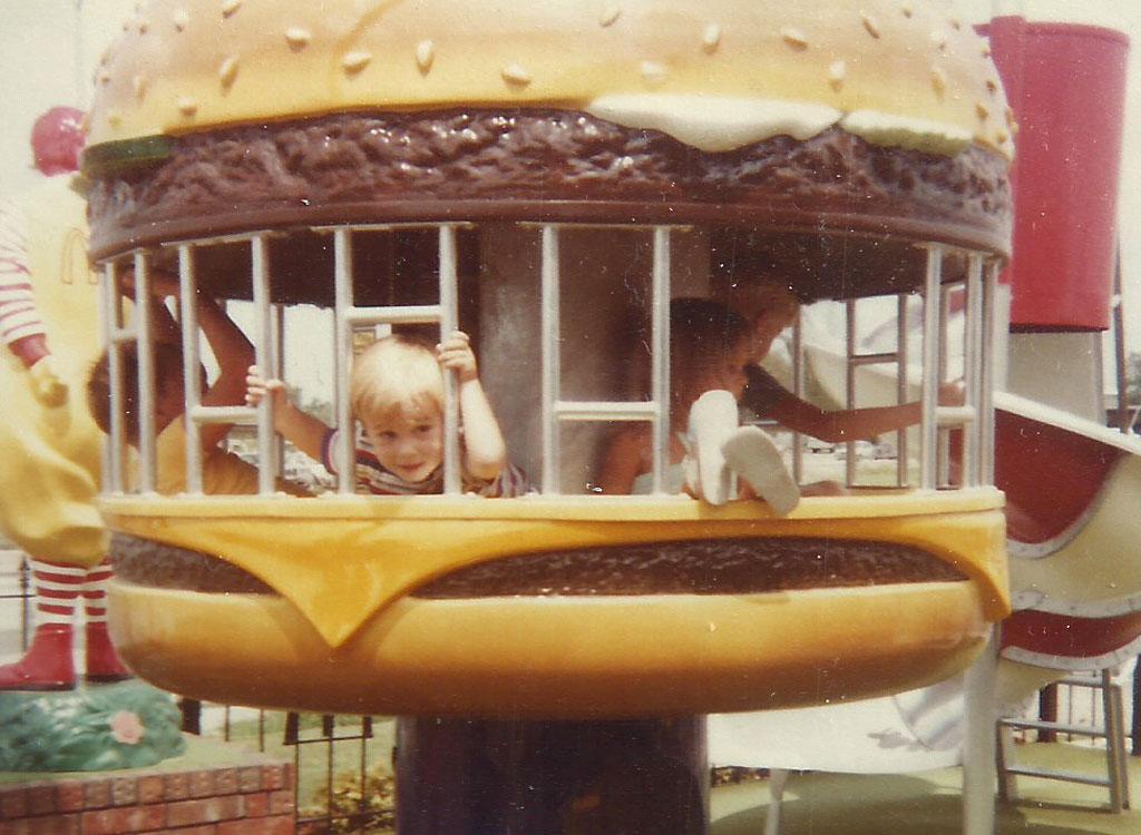 Mcdonalds play place burger 1985