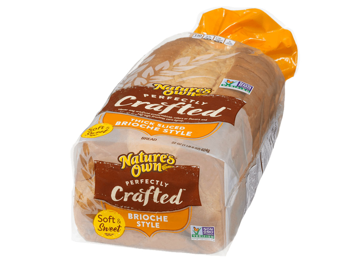 natures own perfectly crafted brioche style bread bag