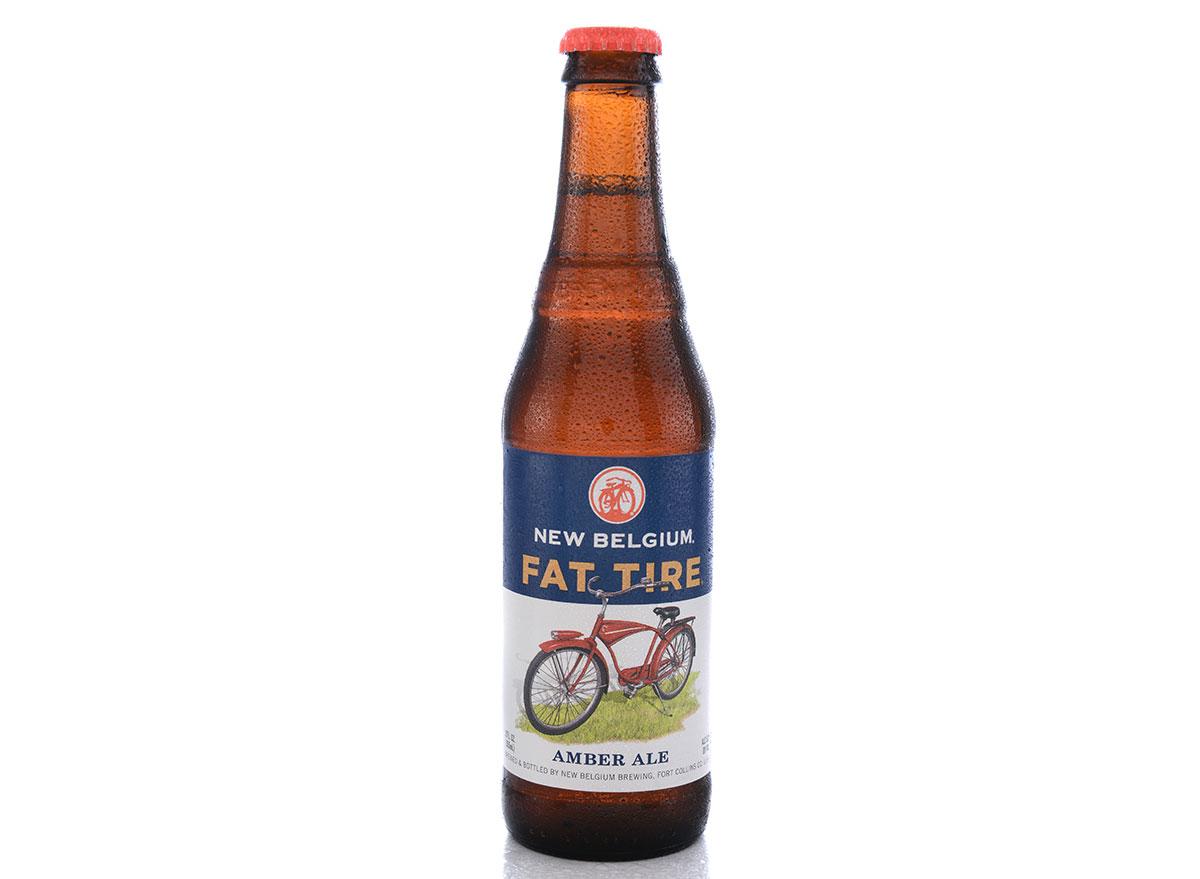 new belgium fat tire beer bottle most popular beer delaware