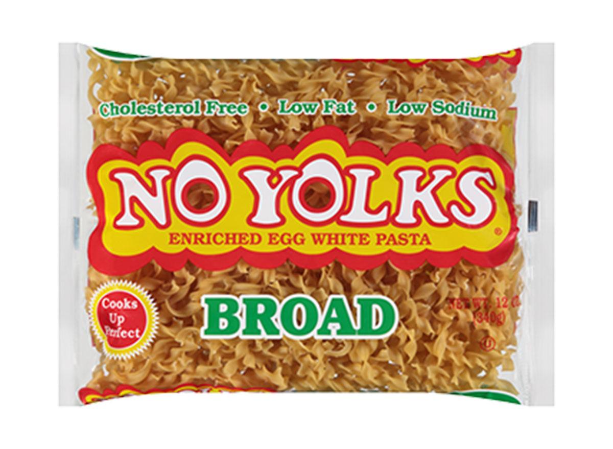 no yolks broad noodles