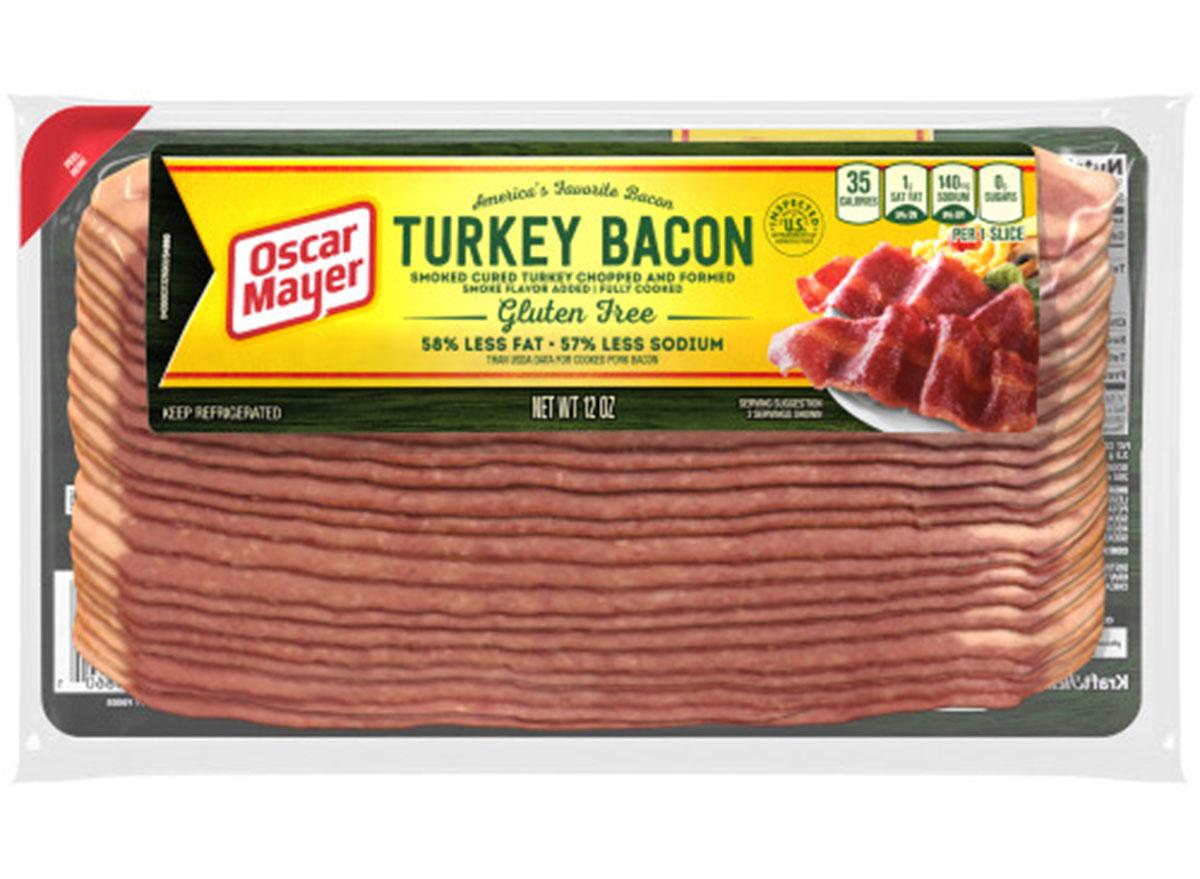 packaged gluten-free oscar mayer turkey bacon