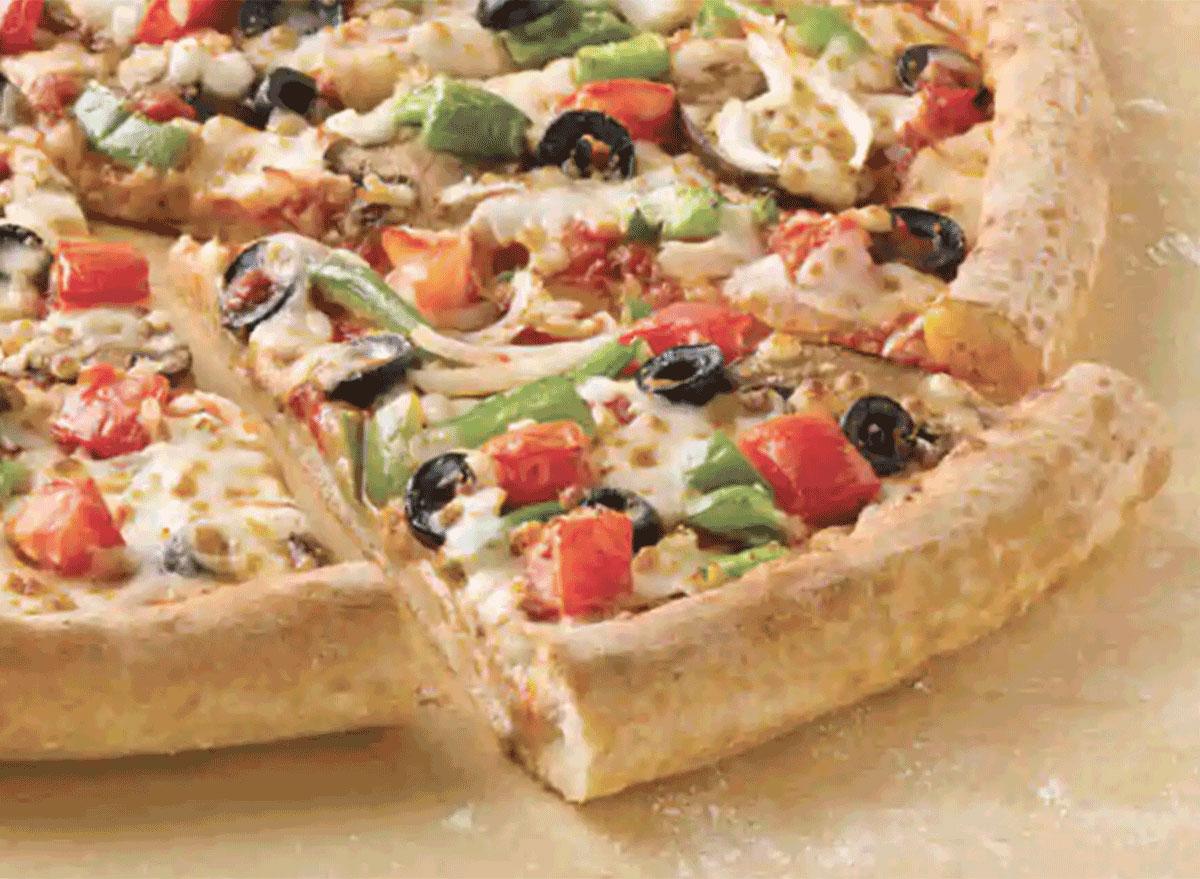chicken veggie pizza