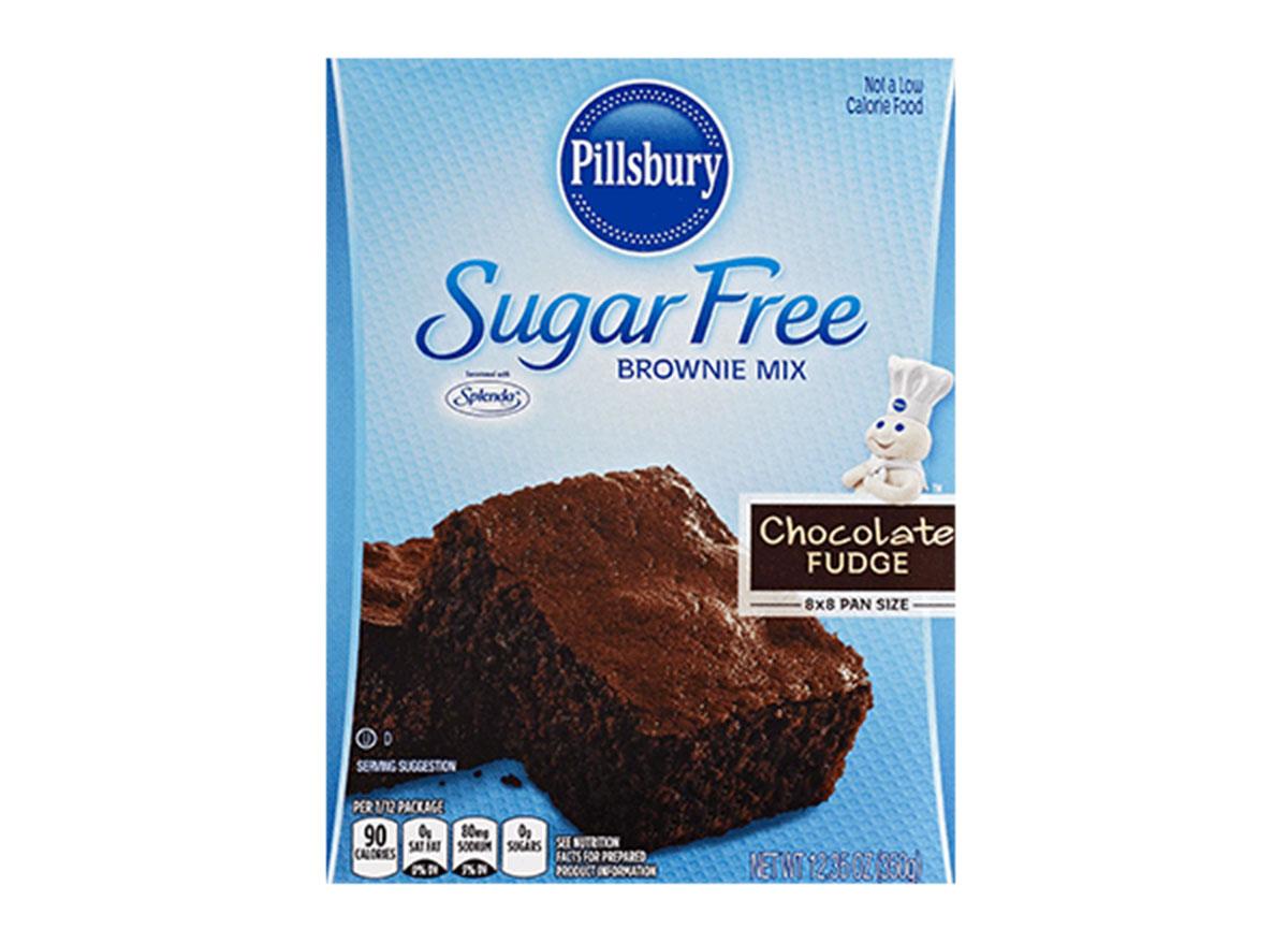 pillsbury sugar free brownie mix chocolate fudge