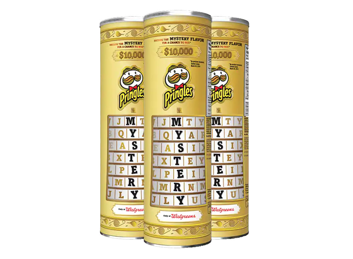 pringles mystery flavor cans