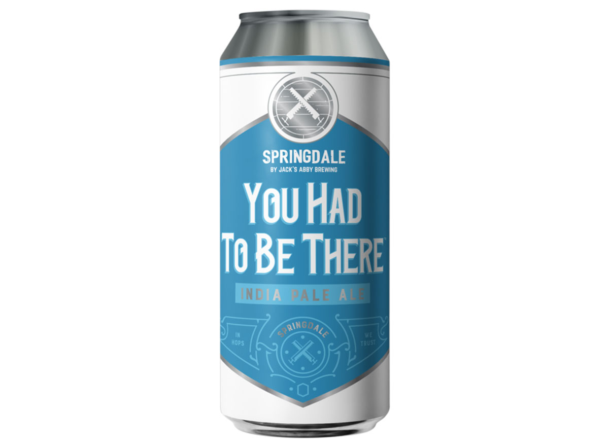 springdale you had to be there india pale ale can most popular beer massachusetts