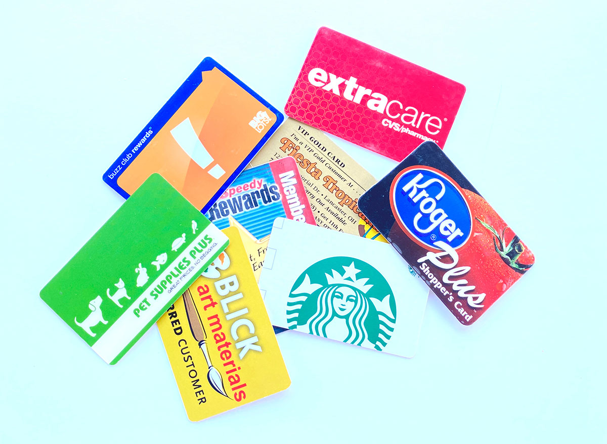 store loyalty rewards cards