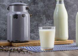 unpasteurized milk glass jar gallon