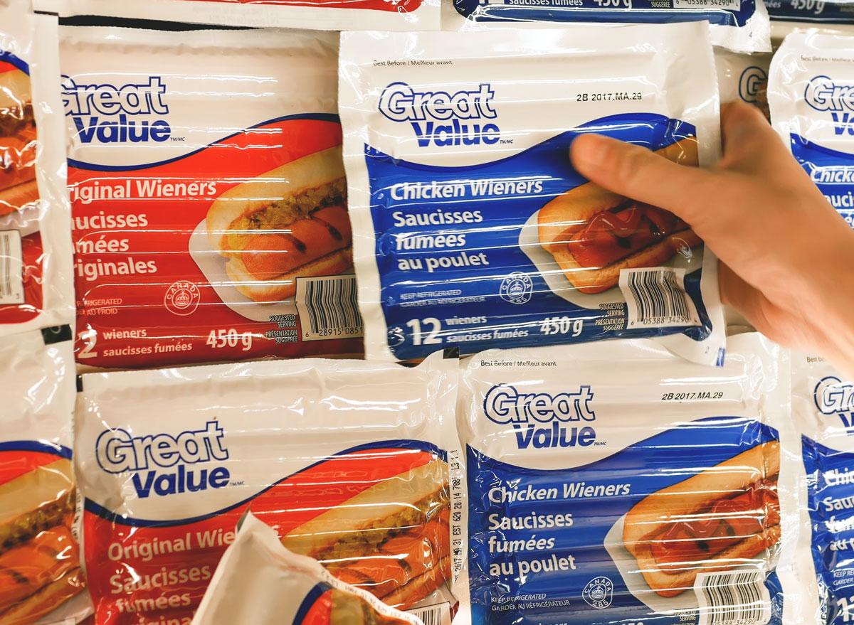 Walmart great value brand
