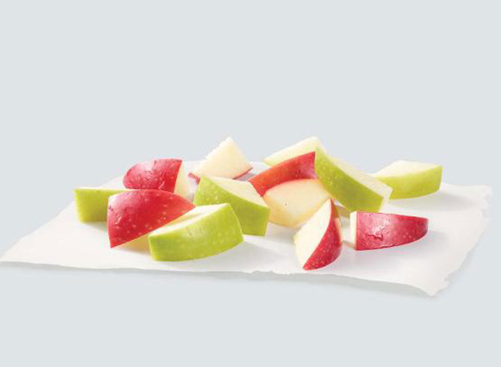 wendy's menu apple slices