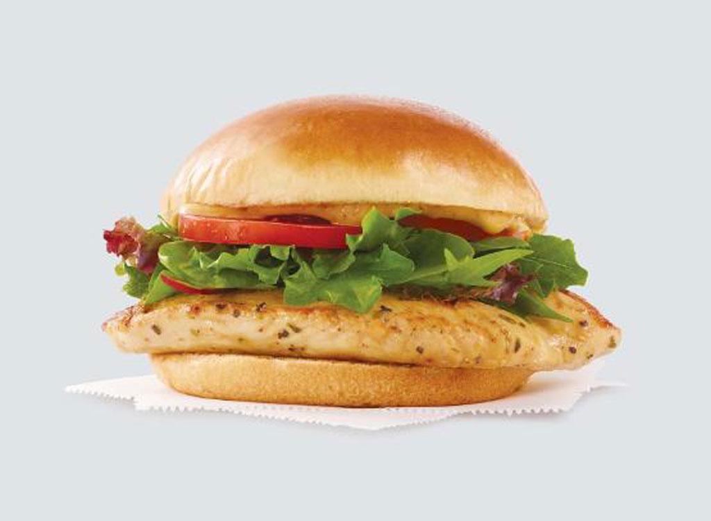 wendy's menu grilled chicken sandwich